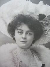 EDWARDIAN ACTRESS MISS ADRIENNE AUGARDE POSTCARD