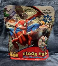"""MARVEL ULTIMATE SPIDER-MAN 46 PIECE FLOOR PUZZLE 24"""" X 36"""" NEW Sealed"""