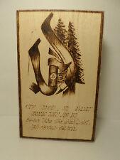 Vietnamese Wooden Box Writing Drawing XQ:56-58 Peace Zone Da Lat? Has Phone #