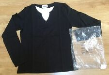 "Ladies Tops x 2  by Afibel ""Cacao & Calumet"" Size 14 Black NWT"
