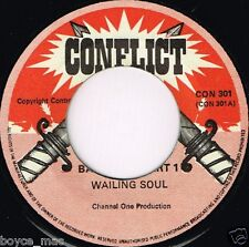 """conflict 7"""" : WAILING SOULS-back out   (hear)"""