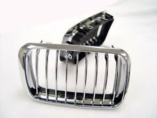 Euro Wide Sport Chrome Front Nose Grill Grille For 1992-1996 BMW E36 3 Series