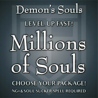 Demon's Souls Remake [25-100 MILLION SOULS] Level Up FAST! Soul Sucker NG+ [PS5]
