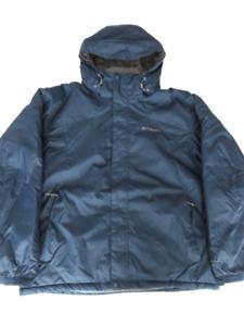 Columbia Omni Shield Insulated Hooded Ski Jacket Parka Blue Men's XL