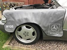 MERCEDES W126 dell'ala Protettore Genuine Mercedes parte