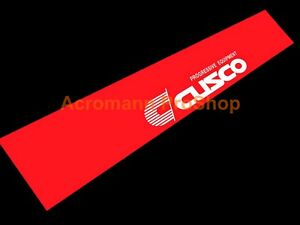 "53"" Cusco Windshield Banner Decal Sticker sun visor window JDM wrx evo gtr civic"