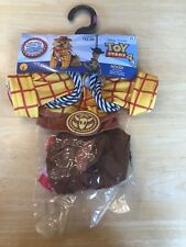 Disney Toy Story Woody Cowboy Pet Dog Halloween Party Costume NEW XS