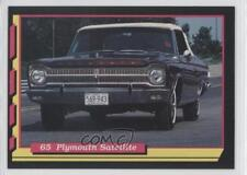 1992 Muscle Cards II #115 65 Plymouth Satelite Non-Sports Card 3a3