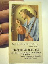 SANTINO RICORDO GIUBILEO 1951 CATTEDRALE DI ALBENGA  C11-627
