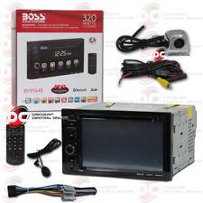 "Boss Bv9364B Car 2Din 6.2"" Lcd Dvd Bluetooth Stereo Chrome Keyhole Backup Camera"