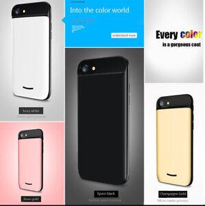 Cargador de Batería Potente 5000 mah Bateria y Carcasa iPhone 6 7 8 plus