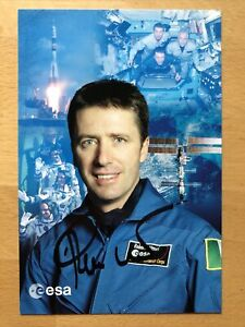 Roberto Vittori AK Raumfahrer Astronaut Autogrammkarte original handsigniert