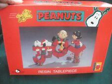 "Kurt S. Adler Peanuts Resin Table piece ""JOY"""