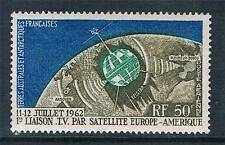 French Antarctic/TAAF 1962 1st Transatlantic Television Satelite Link SG 25 MNH