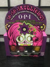 OPI So So Skullicious Halloween Mini Nail Lacquer 4pc