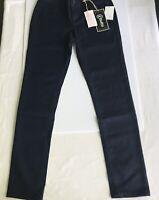 REWASH Women's Cotton Blend Skinny Fit Glitter Denim Jeans W26 L32 New With Tags
