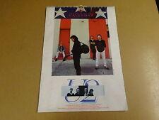 CALENDAR 1986 / U2