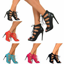 Party Synthetic Leather Standard Width (B) Heels for Women