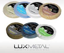 disco abrasivo per mola per lucidare metalli acciaio alluminio ottone rame
