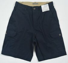 Geoffrey Beene #5263 NEW Men's Size 30 Navy 100% Cotton Classic Fit Cargo Shorts