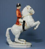 Wahlis Wien Porcelain figurine  Lipizzaner Stallion. Hutschenreuther