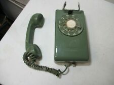 Vintage Stromberg Green Wall Phone Shell Used ( Untested)