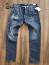Replay Herren Jeans ANBASS M914.M953.941.007 Slim W34 L32 - Neu
