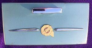 1953-54  CHRYSLER   ORIGINAL REAR SEAT ASHTRAY WITH LIGHTER = OEM NICE
