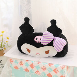 Cute Anime Kuromi My Melody Home Office Bedroom Car Desk Tissue Box Cover Holder