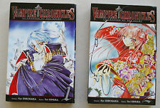 Vampire Chronicles T 1 & T 2 K SHIRODAIRA & Y KIMURA éd Ki-oon