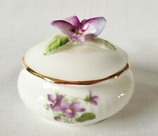 Royal Albert flor del mes de febrero Floral Candy Box-Violetas