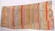 "Liz Claiborne Ladies Scarf 10"" X 52"" Multi-Color Striped Abstract"
