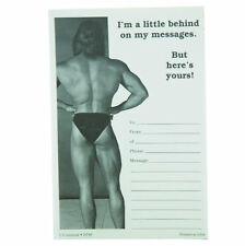 """Cheeky memos """"I'm a little behind on my messages"""" male"""