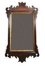 Antique Georgian Mahogany Mirror