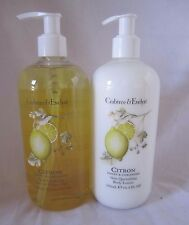 Crabtree & Evelyn Bath Shower Gel & Body Lotion Citron Honey & Coriander 16.9 oz