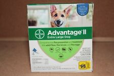 Advantage Ii Flea & Tick Topical for Extra Large Dog Over 55 lbs 4 Doses