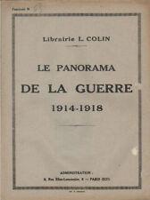 LE PANORAMA DE LA GUERRE 1914-1918  fascicule N° 68