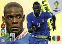 2014 Panini Adrenalyn World Cup EXCLUSIVE Mario Balotelli Limited Edition MINT