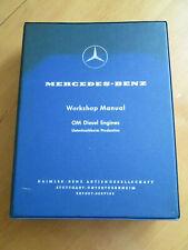 Workshop Manual Mercedes  OM 621 / 636 OM Diesel Engines - Orginal 1959 -