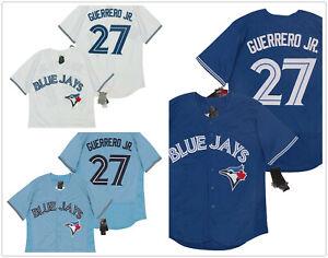 Men's Toronto Blue Jays #27 Vladimir Guerrero Jr. Flex Base Stitched Jersey