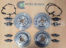 Mini R50 R53 R52 ONE Cooper S 01-06 Brake Discs Front Rear Pads & Wear Leads