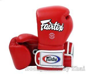 NWT Fairtex Muay Thai Boxing Gloves BGV9 Mexican Style Heavy Hitter + Retail Box