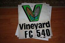 Original 1980s 1990s Vineyard Seed Feed Corn Farm Row Plot Marker Sign