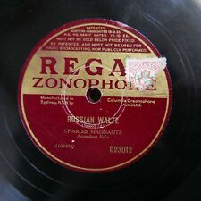 78rpm CHARLES MAGNANTE accordion , russian waltz / two guitars