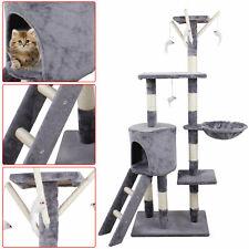 Cat Tree Scratching Activity Tower Post Large Kitten Climbing Center Pet House