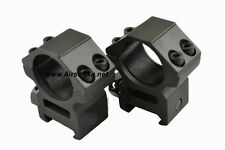 "AG-25M 2-piece 1"" SCOPE Rings for Picatinny Mount Base"