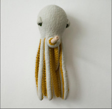 Small POP Octopus - Handmade Plush toy