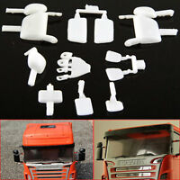 DIY Rearview Mirror Set For 1/14 Tamiya Scania R620 R470 RC Tractor Truck Car