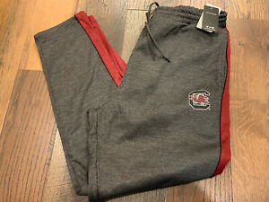 South Carolina Gamecocks NCAA Men's Gray Broad Peak Fleece Pants Size XXL - NWT