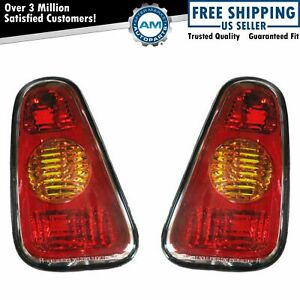 Tail Lights Taillamps Left & Right Pair Set For 2002-2007 Mini Cooper